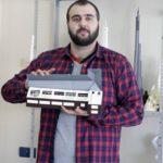 Макет медицинского учреждения методом 3D-печати